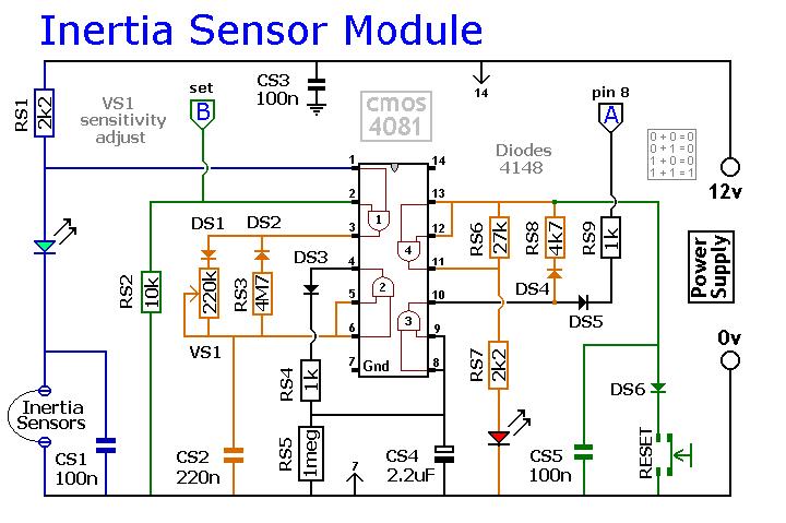 An Expandable Multi Zone Modular Burglar Alarm Circuit
