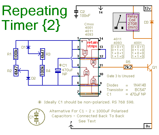 repeating interval timer no2 circuit diagram and instructions rh hobby circuits com