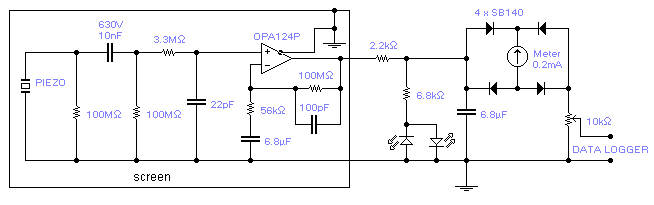 Seismic Detector Circuit Diagram And Instructions