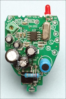Quality Stereo Wireless Microphone or Audio Link pcb3